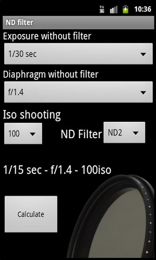 ND filter PRO