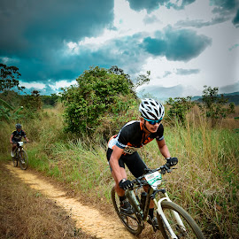 Mountain Race by Rico Laurel - Sports & Fitness Cycling