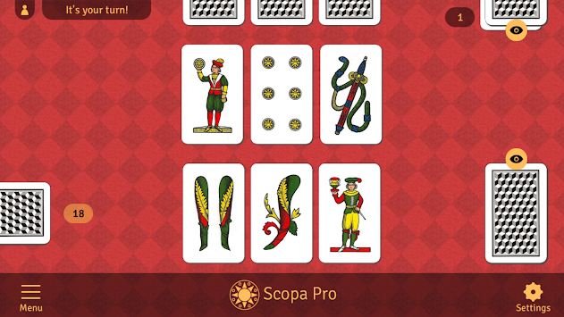 Scopa Pro APK screenshot thumbnail 1