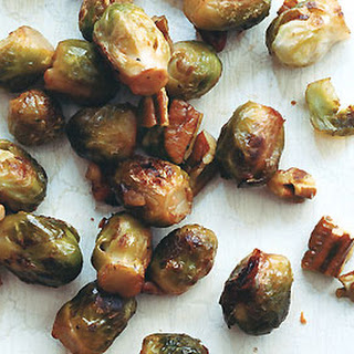 Baby Brussels Sprouts with Buttered Pecans