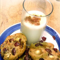 Rum-Drunk Cranberry Hazelnut Cookies