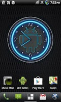 Screenshot of 10 Blue Neon Clocks