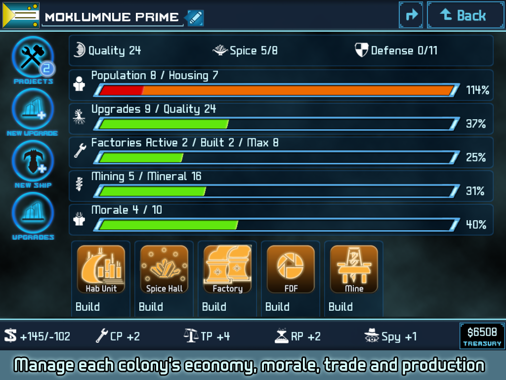 Star Traders 4X Empires Elite Screenshot 9