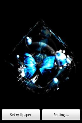 3D Butterfly 021