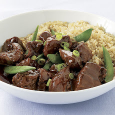 Slow-Cooker Five-Spice Pork with Snap Peas