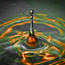 by Shalabh Sharma - Abstract Water Drops & Splashes