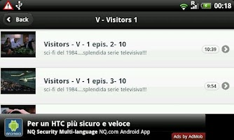 Screenshot of Visitors ITA