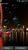 Screenshot of Bubble Live Wallpaper