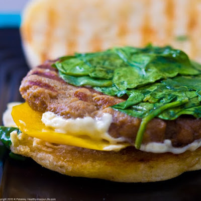 15 Minute Breakfast Sandwich