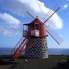 Azores windmill by João Ascenso - Buildings & Architecture Other Exteriors