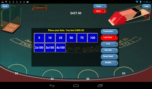 Blackjack Verite Games - screenshot