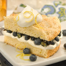 Blueberry-lemon Shortcakes