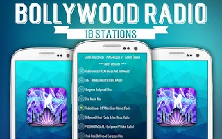 Screenshot of Free Bollywood Radio