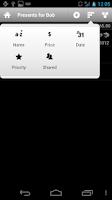 Screenshot of WishList
