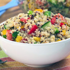 Five Step Simple Summer Quinoa Salad
