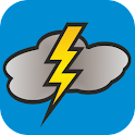 Thunderstorm calculator icon