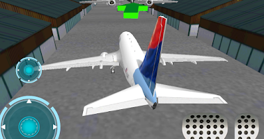 Screenshot of Airport 3D airplane parking