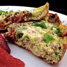 Frittata With Sun-Dried Tomatoes