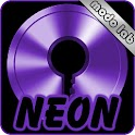 Purple Neon GO Locker theme