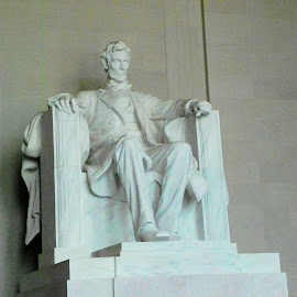 Lincoln Memorial by Ray Stevens - Buildings & Architecture Statues & Monuments