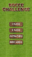 Screenshot of Bocce Challenge Lite