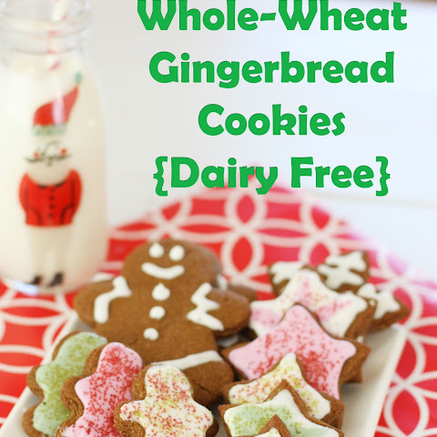 Whole Wheat Gingerbread Cookies {Dairy Free} plus HUGE Baking Giveaway!