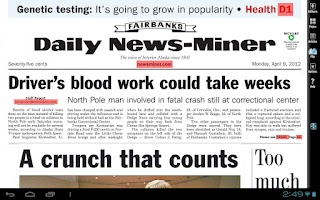 Screenshot of Fairbanks Daily News-Miner