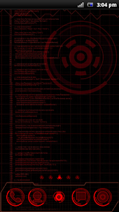 JARVIS MARK HACKED Theme - screenshot