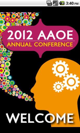 AAOE 2012