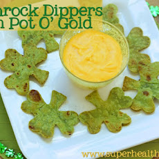 Shamrock Dippers with a Pot of Gold