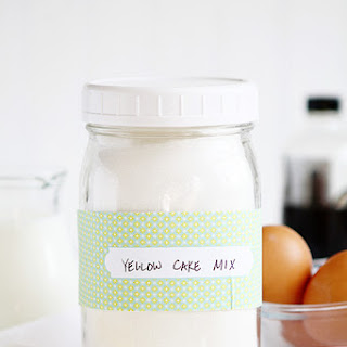 Homemade Yellow Cake Mix