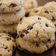 Flourless Chocolate Chip Almond Cookies