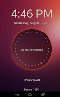 Screenshot of Ubuntu Lockscreen