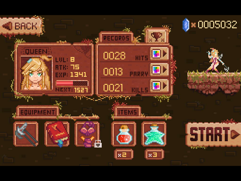 Combo Queen - Action RPG Screenshot 14