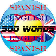 500 Spanish & English Words