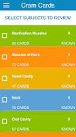 Screenshot of NBDE Anatomy for Dental Boards