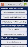 Screenshot of Learn Advertising & Marketing