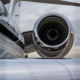 Global Engine by Deric Herbert - Transportation Airplanes ( corporate jet, jet engine, engine, aircraft, jet )