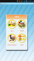 Screenshot of UPSR
