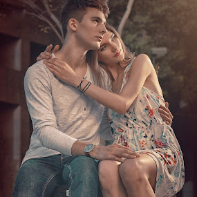 Jessy & Olya by Crispin Lee - People Couples