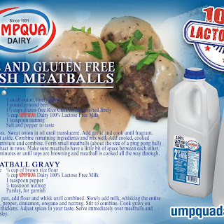 Lactose Free and Gluten Free Swedish Meatballs