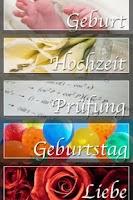 Screenshot of Sprueche (German only)