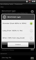 Screenshot of Nova Battery Tester