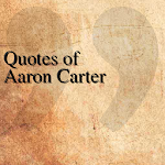 Quotes of Aaron Carter APK Image