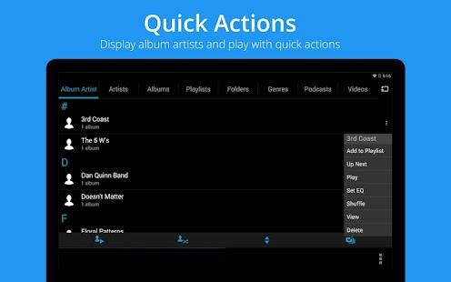 Music Player : Rocket Player - screenshot thumbnail