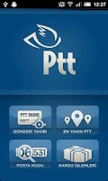 Screenshot of Cep PTT Kargo