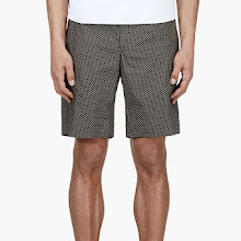 Alexander Mcqueen Black And Khaki Skull Shorts