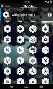 WhitePulse Icons (ADW/NOVA/GO) - screenshot