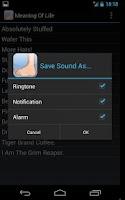 Screenshot of Monty Python Movie Soundboard