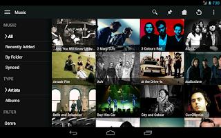 Screenshot of Plex for Plex Pass